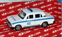 Lada 2106 (ВАЗ-2106) милиция _ CarLine _ 1:43