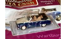 Wartburg311 Cabrio (ГДР) _ CSSR-026, журнальная серия Kultowe Auta PRL-u (Польша), 1:43, 1/43, DeAgostini-Польша (Kultowe Auta)