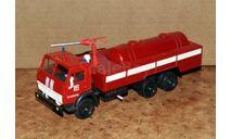 АП-5 Автомобиль Порошкового тушения на шасси КамАЗ-53213 (КамАЗ-53212 пожарный)  _ Элекон  _ Made in USSR, масштабная модель, scale43