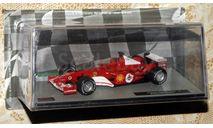 FerrariF2004Рубенс Барикелло2004 _ F1-025, журнальная серия масштабных моделей, scale43, Formula 1 Auto Collection