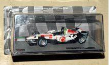 HondaRA106Дженсон Баттон2006 _ F1-033, журнальная серия масштабных моделей, Formula 1 Auto Collection, scale43