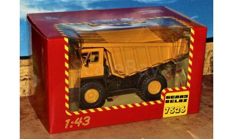 БелАЗ-7526 жёлтый _ НАП, масштабная модель, Наш Автопром, scale43