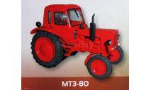 МТЗ-80 «Беларусь» трактор _ Тр-006, журнальная серия Тракторы. История, люди, машины (Hachette), scale43