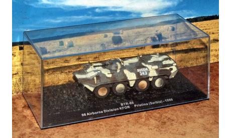 БТР-80 KFOR 1999 _ РТ-БММ-АНС-sp (IXO) _ 1:72, журнальная серия Автомобиль на службе (DeAgostini), IXO Танки, scale72