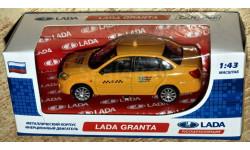 Lada Granta: 4 цвета/ Спорт/ ДПС/ милиция/ такси _ CarLine _ 1:43, масштабная модель, 1/43, ВАЗ