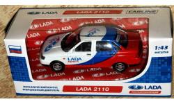 Lada Рriora: 4 цвета / Спорт / ДПС / такси _ CarLine _ 1:43, масштабная модель, 1/43, ВАЗ