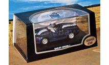 ShelbySeries 11999 синий мет, журнальная серия Суперкары (DeAgostini), Maxi Car, scale43