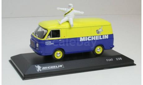 Fiat 238 =Delivery Van= _ MICHELIN-15 _ Altaya IXO _ 1:43, журнальная серия масштабных моделей, 1/43