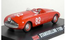 Stanguellini S1100 82 (1948) (Aldo Terigi / Mario Berti, 4th) _ MM-09 _ 1:43, журнальная серия масштабных моделей, 1/43, Mille Miglia