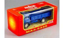 МАЗ-5335 (1977 г.в.) бортовой _ синий _ НАП, масштабная модель, scale43, Наш Автопром