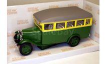 ГАЗ-03-30 автобус_ зелёный с жёлтым _ НАП _ 1:43, масштабная модель, 1/43, Наш Автопром