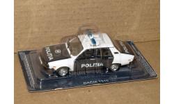 Dacia 1310 _ ПММ-52, журнальная серия Полицейские машины мира (DeAgostini), 1:43, 1/43, Полицейские машины мира, Deagostini