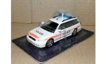 Subaru Legacy _ ПММ-58, журнальная серия Полицейские машины мира (DeAgostini), 1:43, 1/43, Полицейские машины мира, Deagostini