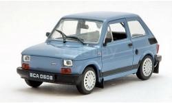 Fiat 126p Bis (ПНР) _ PRL-038 _ 1:43, журнальная серия Kultowe Auta PRL-u (Польша), scale43, DeAgostini-Польша (Kultowe Auta)