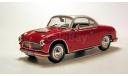 AWZ P70 coupe (ГДР) _ PRL-066 _ 1:43, журнальная серия Kultowe Auta PRL-u (Польша), 1/43, DeAgostini-Польша (Kultowe Auta)