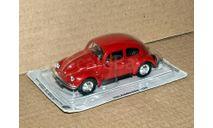Volkswagen 1200 (Kafer, Beetle) _ PRL-074, журнальная серия Kultowe Auta PRL-u (Польша), scale43, DeAgostini-Польша (Kultowe Auta)