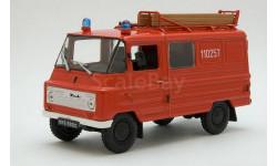 ZukA-15 Woz strazacki _ пожарный _ PRL-s04 _ 1:43, журнальная серия Kultowe Auta PRL-u (Польша), 1/43, DeAgostini-Польша (Kultowe Auta)
