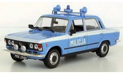 FIAT125p MO _ милиция _ PRL-s09 _ 1:43, журнальная серия Kultowe Auta PRL-u (Польша), 1/43, DeAgostini-Польша (Kultowe Auta)