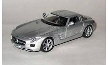 Mercedes-BenzSLS AMG _ СК-14, журнальная серия Суперкары (DeAgostini), scale43, Суперкары. Лучшие автомобили мира, журнал от DeAgostini