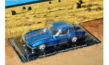 ChevroletCorvette Stingray 1963 _ СК-77, журнальная серия Суперкары (DeAgostini), scale43, Суперкары. Лучшие автомобили мира, журнал от DeAgostini