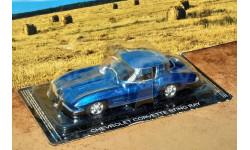 ChevroletCorvette Stingray 1963 _ СК-77 _ 1:43, журнальная серия Суперкары (DeAgostini), 1/43, Суперкары. Лучшие автомобили мира, журнал от DeAgostini