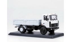 МАЗ-5337 бортовой, серый (поздний) _ SSM _ 1:43, масштабная модель, 1/43, Start Scale Models (SSM)