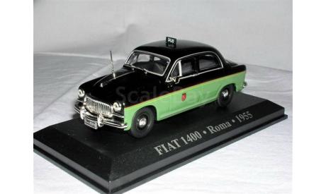 Fiat14001955Roma _ ТаМ _ Altaya _ 1:43, журнальная серия масштабных моделей, 1/43