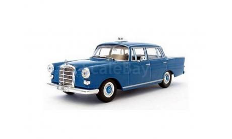 Mercedes 200D1965Athens _ ТаМ _ Altaya _ 1:43, журнальная серия масштабных моделей, 1/43, Mercedes-Benz