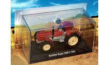 Schlüter Super 1250 V _ трактор _ Тр-87 _ 1:43, журнальная серия Тракторы. История, люди, машины (Hachette), Тракторы. История, люди, машины. (Hachette collections), scale43