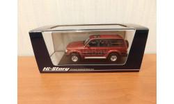 Toyota LAND CRUISER (80VX LIMITED 1989)red, масштабная модель, Hi-Story, 1:43, 1/43