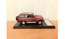 Toyota LAND CRUISER (80VX LIMITED 1989)red, масштабная модель, Hi-Story, 1:43, 1/43