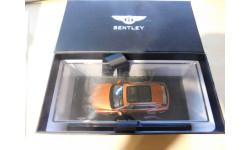 Bentley Bentayga (Orange Flame), масштабная модель, Kyosho, 1:43, 1/43