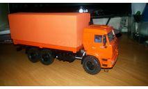КАМАЗ 44108  рестайл тент MD Models, масштабная модель, scale43