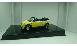 BMW Mini Cooper S  Cabriolet 2007 yellow