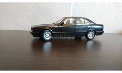 BMW 535i E34 1988 Black metallic, редкая масштабная модель, 1:18, 1/18, Minichamps
