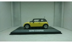 Mini Cooper (R50) liqiuid yellow - black top, масштабная модель, 1:43, 1/43, Minichamps