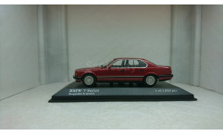BMW 7 Series E32 1986 red metallic