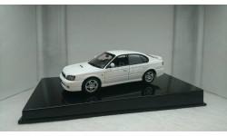 Subaru Legacy B4 white 1999, редкая масштабная модель, Autoart, scale43
