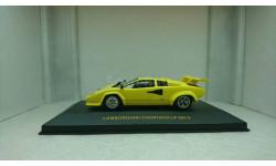 Lamborghini Countach LP 500 S Yellow, масштабная модель, Premium X, scale43