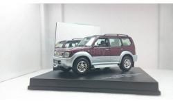 Toyota Land Cruiser LWB 1999 Magenta Mica & Silver