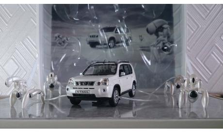 Nissan x-trail t31 white, редкая масштабная модель, 1:43, 1/43, Norev