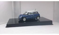 BMW Mini Cooper, Blue, масштабная модель, 1:43, 1/43, Autoart