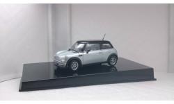 BMW Mini Cooper Silver, масштабная модель, 1:43, 1/43, Autoart