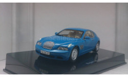 Bugatti EB 118 Paris 1998 French Racing Blue, масштабная модель, Autoart, 1:43, 1/43