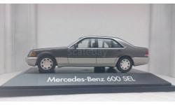 Mercedes-Benz 600SEL W140 1991 perlmuttgrau metallic