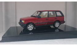 Range Rover 4.6 HSE metallic red, редкая масштабная модель, Autoart, scale43