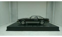 Toyota Soarer 2000 Turbo MZ10 1984 metallic black, масштабная модель, AOSHIMA, 1:43, 1/43