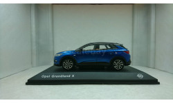 Opel grandland X   2017 blue, масштабная модель, iScale, scale43