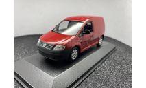 Volkswagen Caddy Kasten 2003 red, масштабная модель, Minichamps, scale43