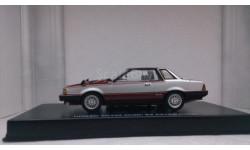 Nissan Silvia US110 DOHC RS Exstra S110 1982 maron silver 2-Tone, масштабная модель, AOSHIMA, 1:43, 1/43